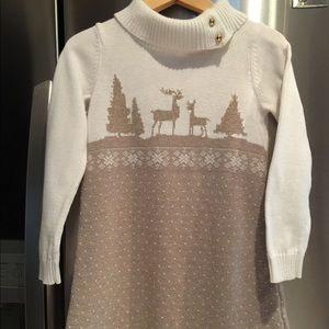 Janie and Jack winter sweater dress 6